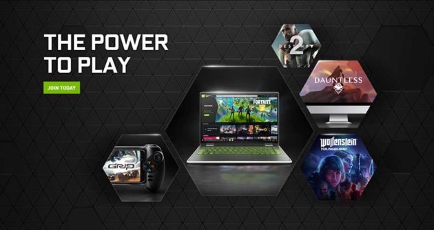 Nvidia GeForce Now Streaming Game Service
