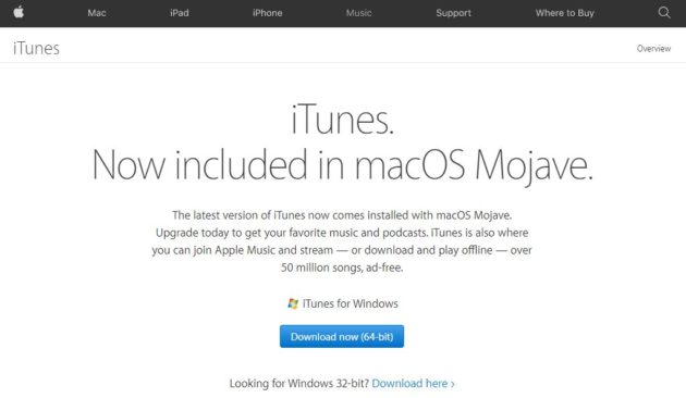 iTunes Music Player for Windows