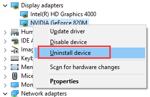 Make changes in Safe Mode interface